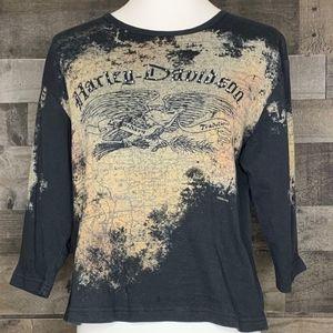 Harley Davidson T-Shirt 3/4 sleeve Fairbanks